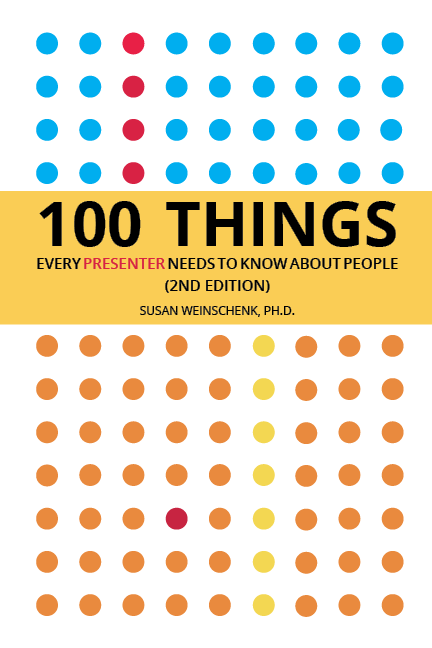 Image of the Book '100 Things Every Presenter Needs To Know About People'